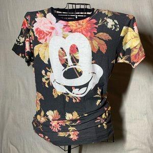 NEFF Disney Floral T-Shirt Size Large Men's